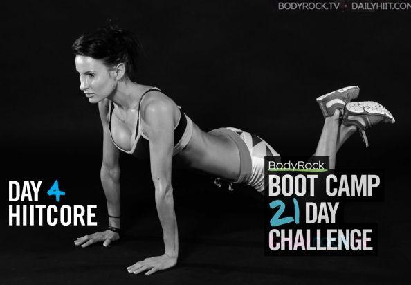 Тренировочный лагерь для бодирокеров — День 4