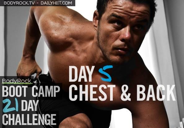 Тренировочный лагерь для бодирокеров — День 5