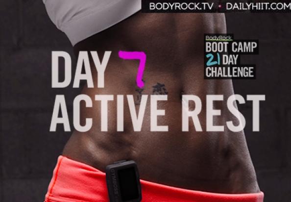 Тренировочный лагерь для бодирокеров — День 7