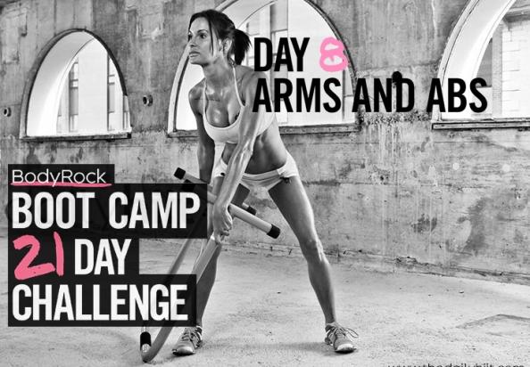 Тренировочный лагерь для бодирокеров — День 8