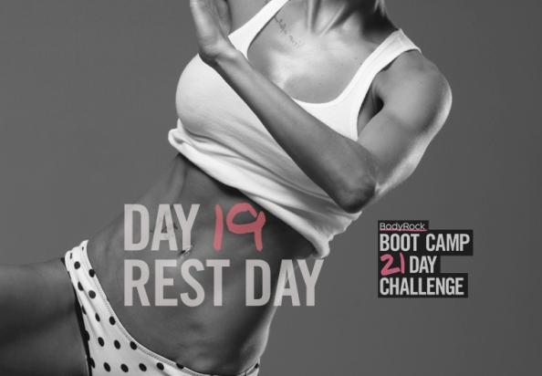 Тренировочный лагерь для бодирокеров — День 19