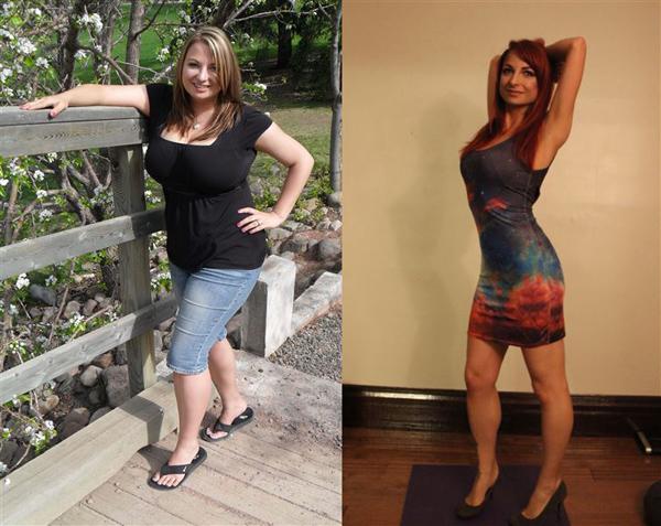 """""""До и после потери веса"""" уверенность в себе"""