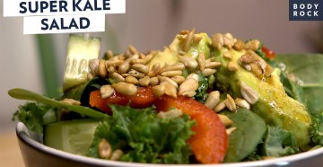 Отличный салат из капусты Кале