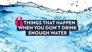 6 вещей, которые с вами произойдут, если вы не будете пить достаточно воды