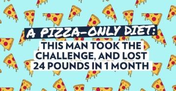 Диета на пицце